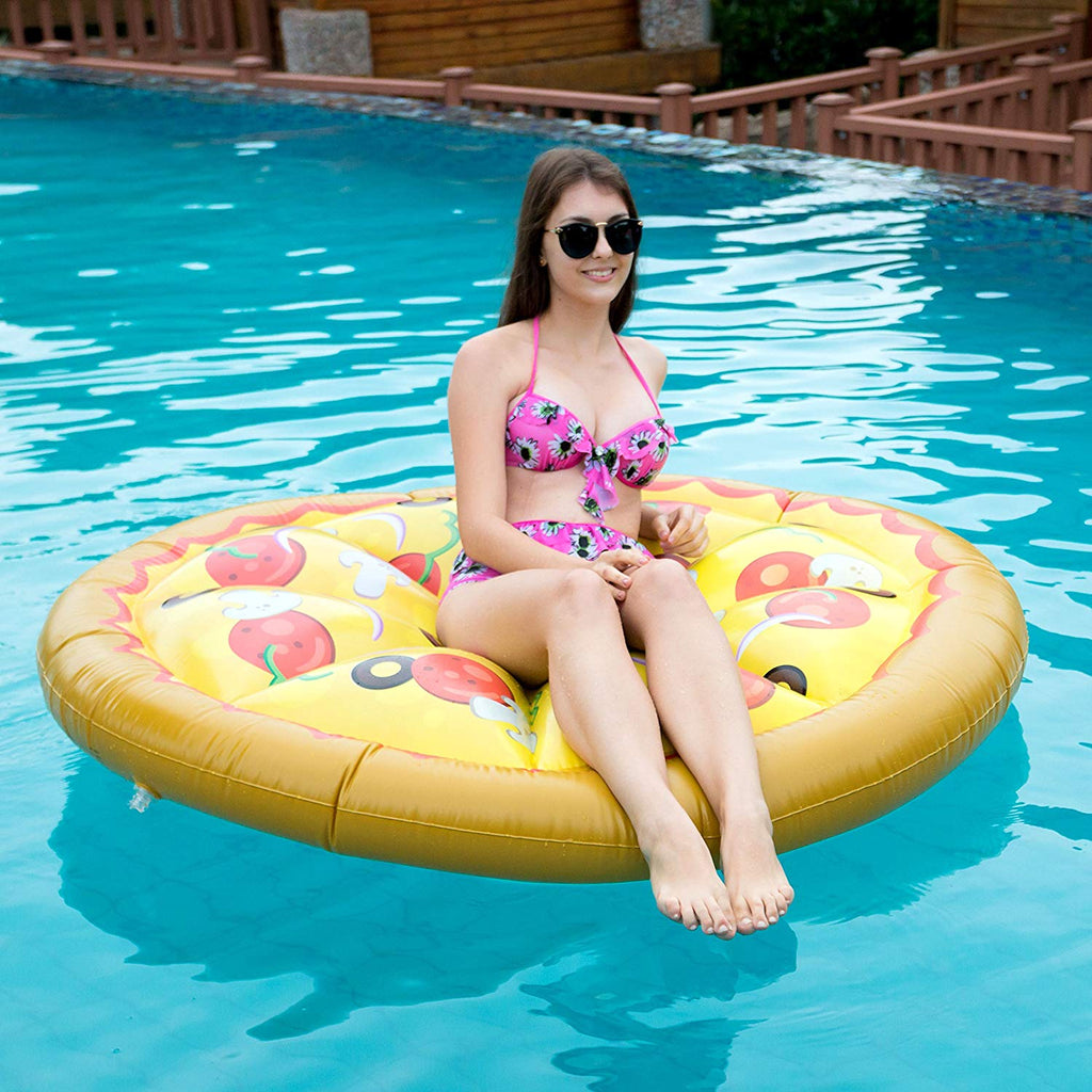 Giant Pizza Pool Float for Kids and Adults