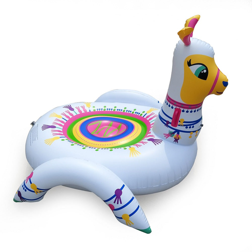 Giant Patterned Alpaca Float for Kids and Adults