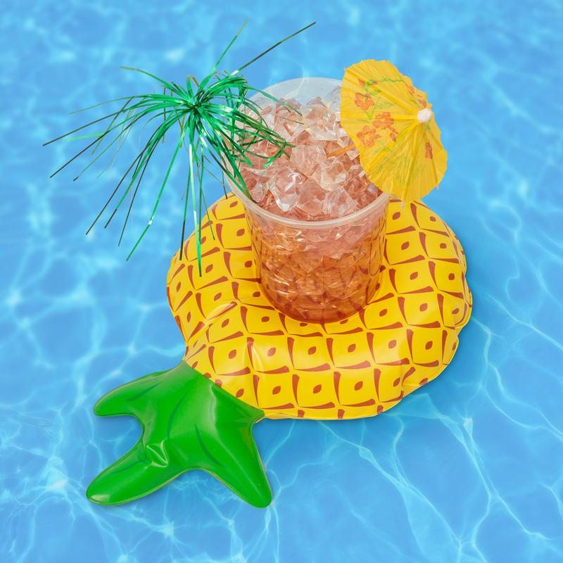 The Pineapple Floating Drink Holder (10 Pack)