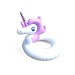 Purple Unicorn Pool Float ring
