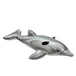 The Grey Dolphin Pool Float for kids