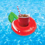 The Red Cherries Floating Drink Holder (10 Pack)