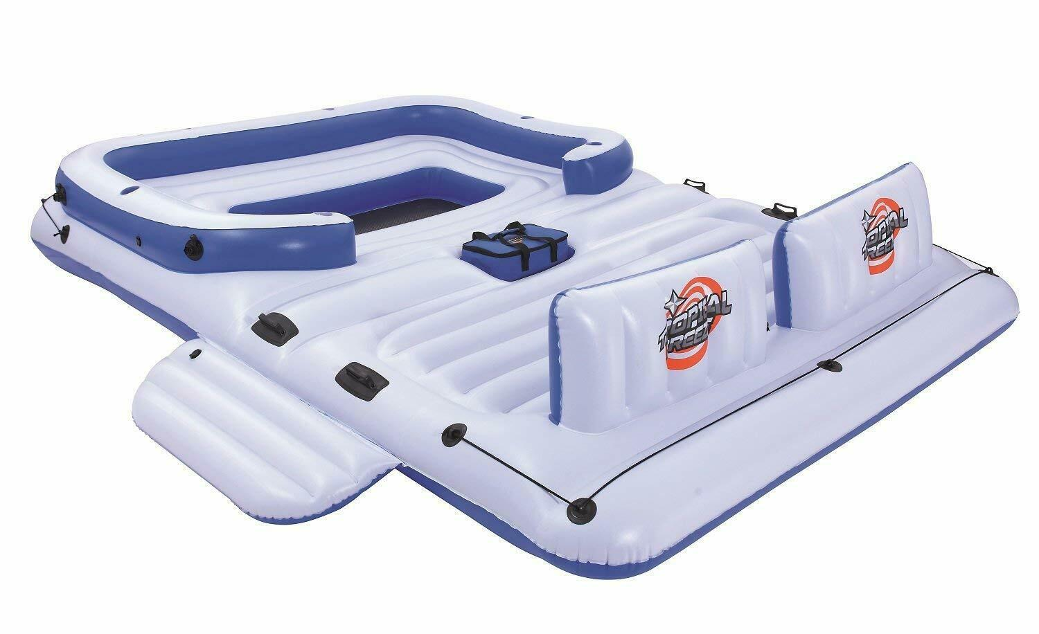 Gigantic Inflatable 6-Adult Pool Party Float
