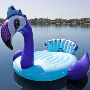 Gigantic Inflatable 6-Adult Party Peacock Float