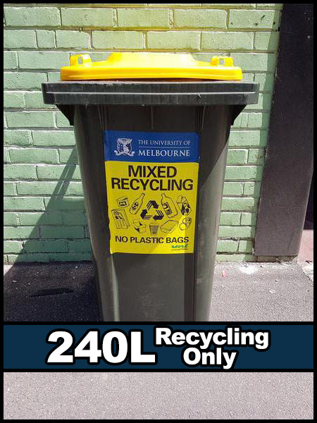 240L Bin - Recycling Only