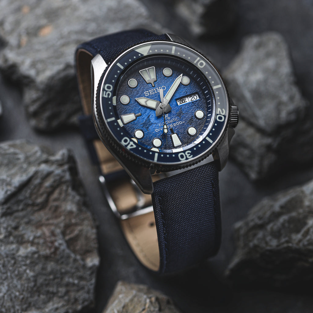 Seaqual upcycled replacement watch strap