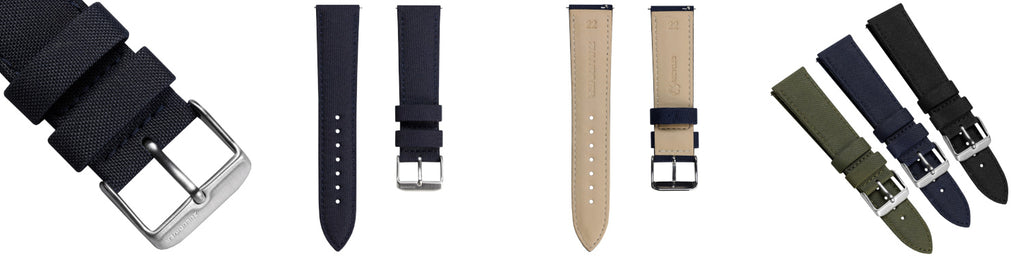 SEAQUAL recycled watch strap