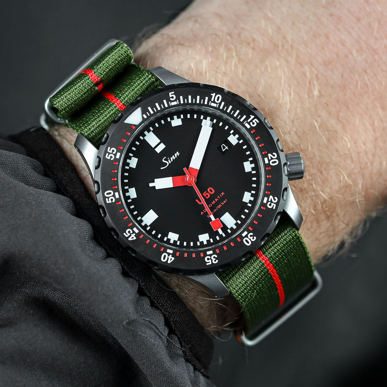 Classic ZULUDIVER Marine Nationale NATO Watch Strap