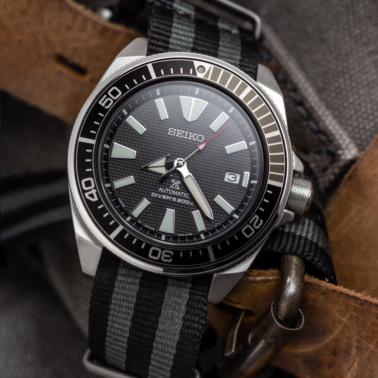 Classic ZULUDIVER Bond NATO Watch Strap
