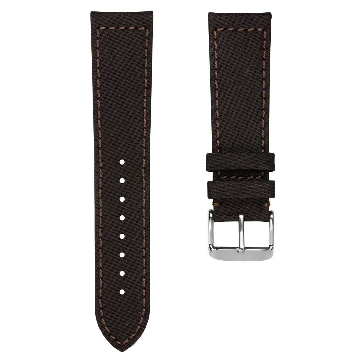 Corfinio Gabardine Recycled Fabric Watch Strap