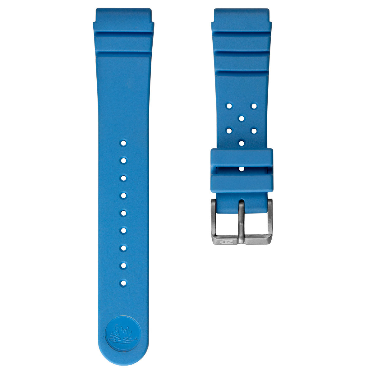 Zuludiver 284 Italian Rubber Dive Watch Strap