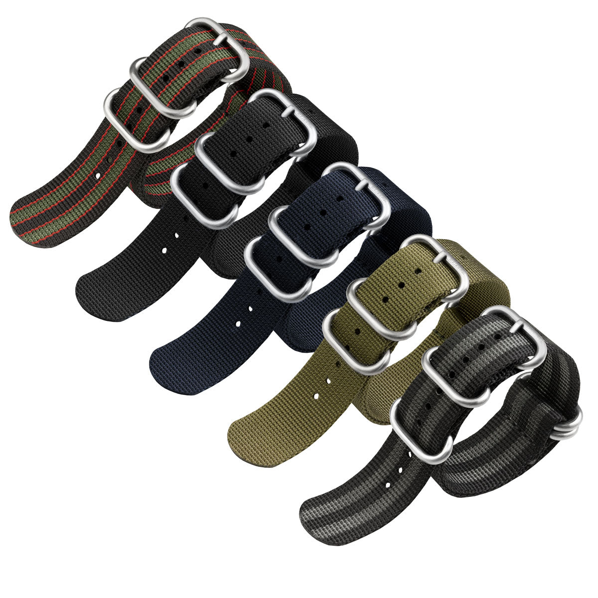 ZULUDIVER Heavy Duty ZULU Watch Strap