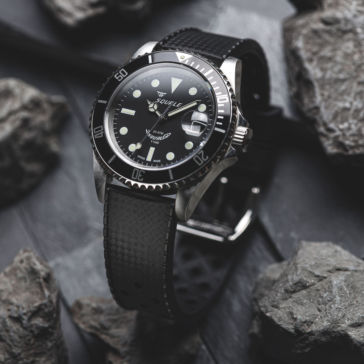 ZULUDIVER Modern Tropical Watch Strap (MkII) Silver Hardware