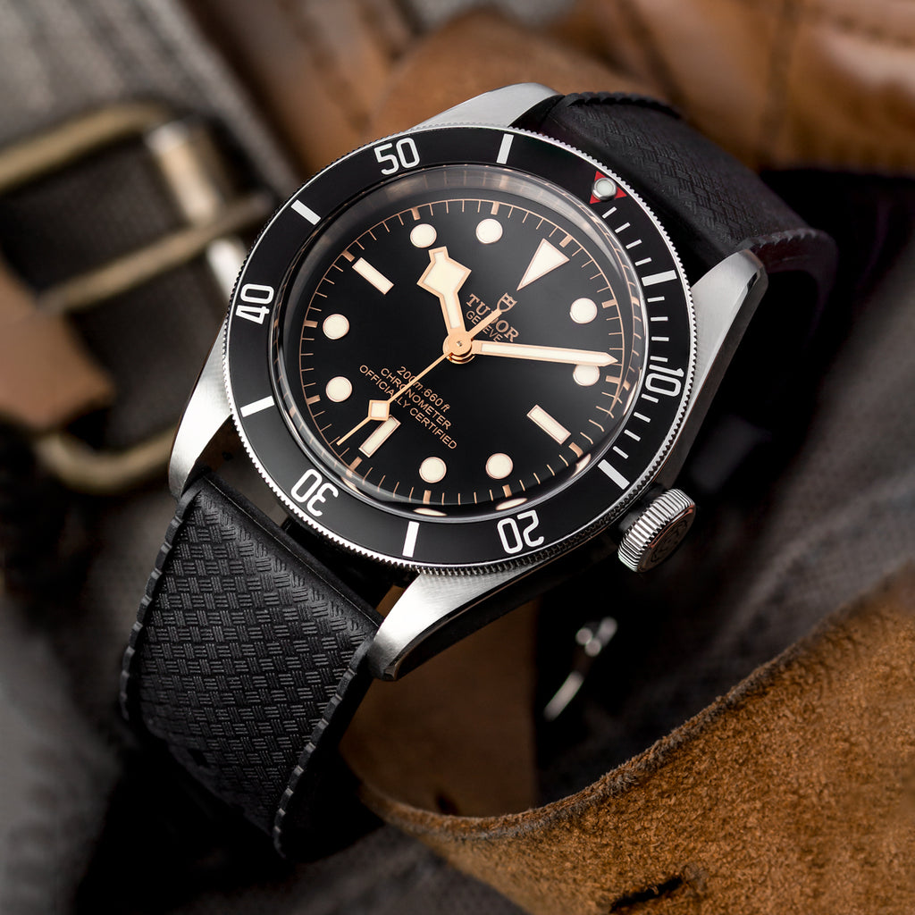ZULUDIVER TROPICAL RUBBER WATCH STRAP