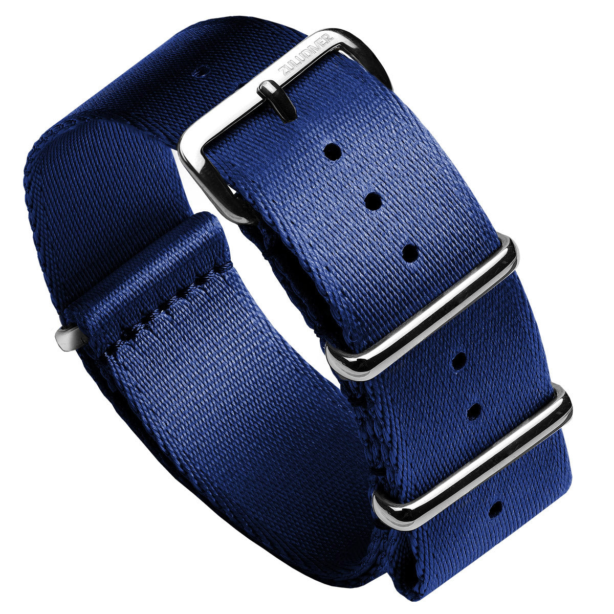Professional NATO Watch Strap with Polished Hardware