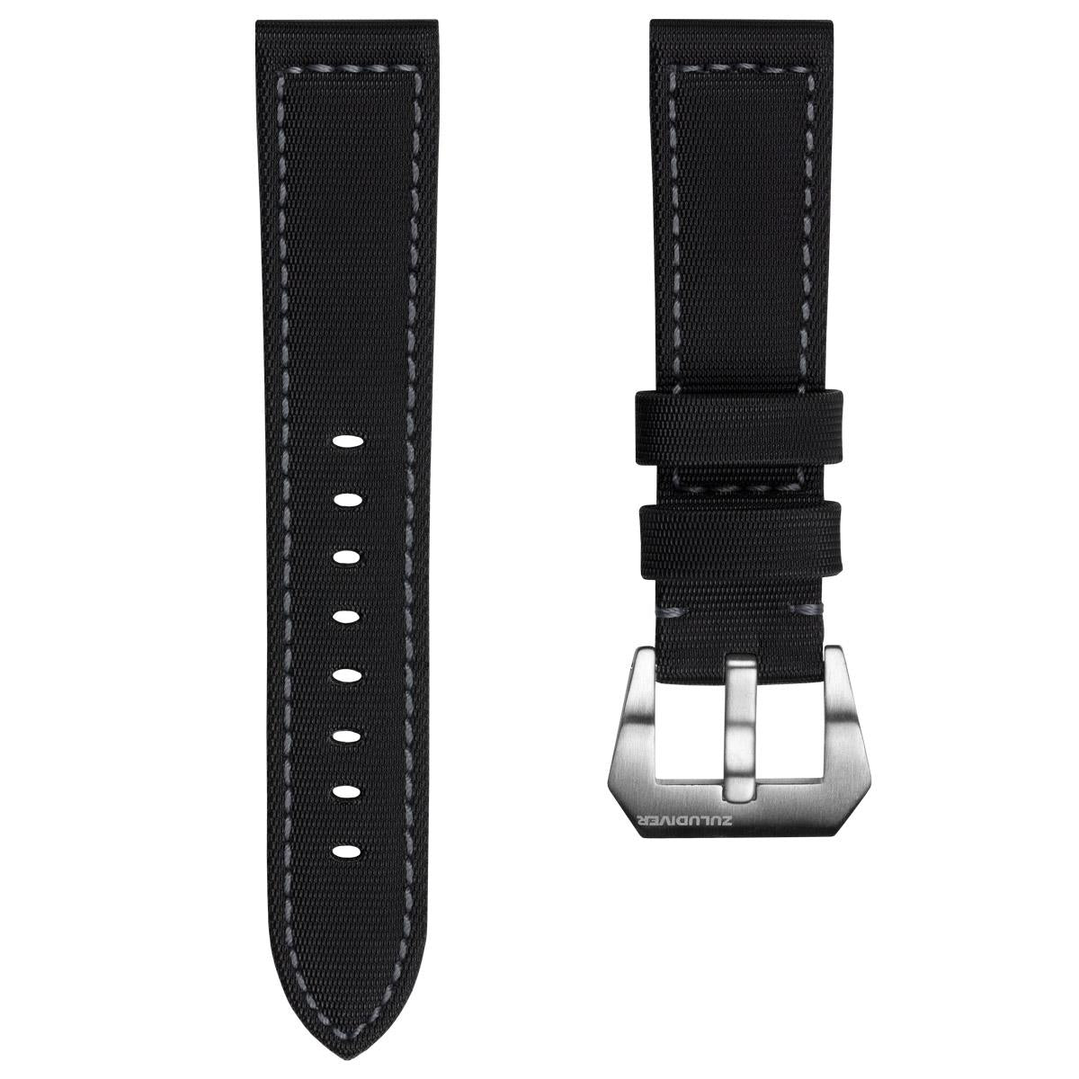 The Helford By Zuludiver, Sailcloth Waterproof Watch Strap