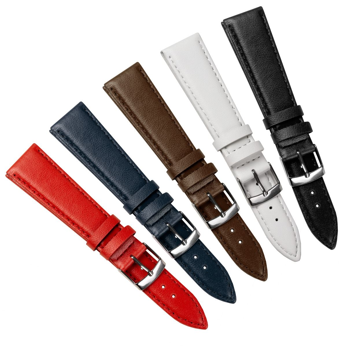 Gallio Vegan Premium Eco-Leather Watch Strap