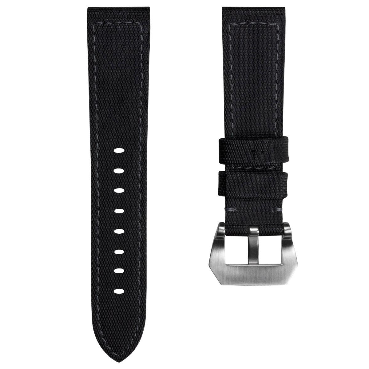 The Helford By ZULUDIVER Sailcloth Waterproof Watch Strap
