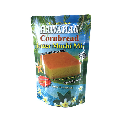 Hawaii's Best Cornbread Butter Mochi Mix