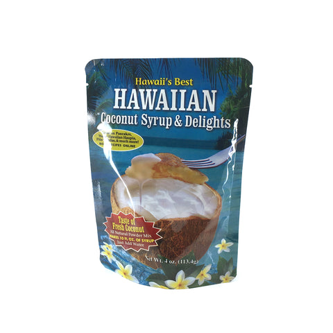 Hawaii's Best Coconut Syrup 4 oz - Wholesale Unlimited Inc.
