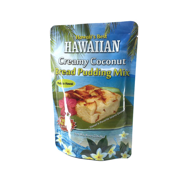 Hawaii's Best Bread Pudding Mix 8 oz - Wholesale Unlimited Inc.