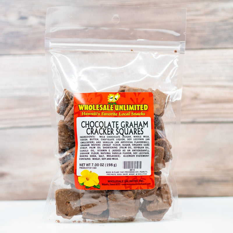 Chocolate Graham Cracker Squares - Wholesale Unlimited Inc.