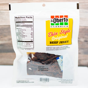 Oberto Thin Style Beef Jerky - Original - Wholesale Unlimited Inc.