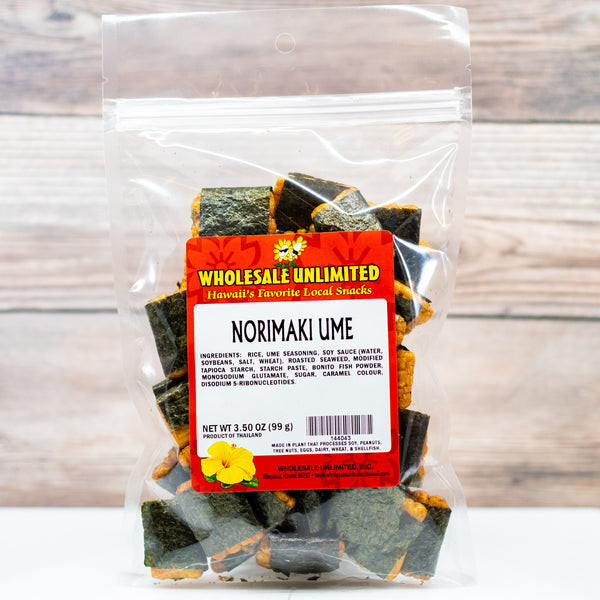 Norimaki Ume - Wholesale Unlimited Inc.