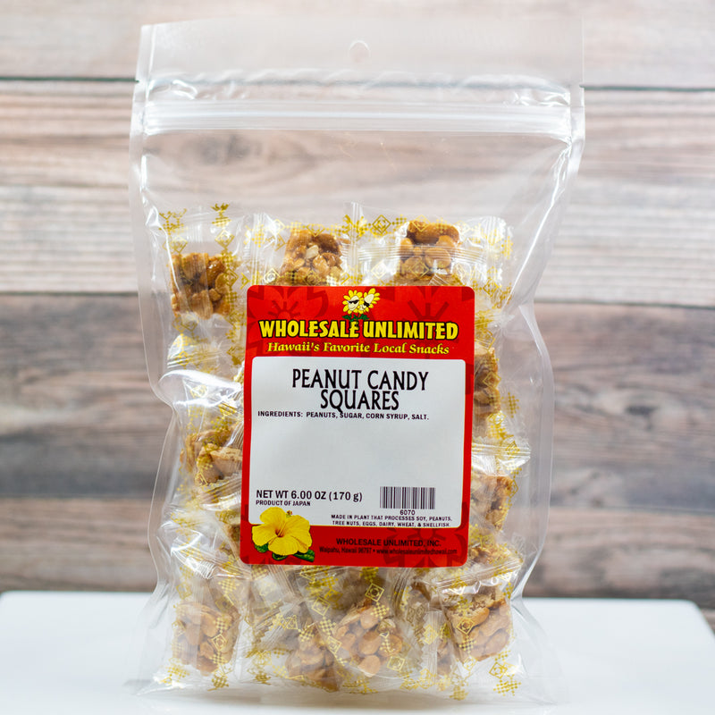 Peanut Candy Squares - Wholesale Unlimited Inc.