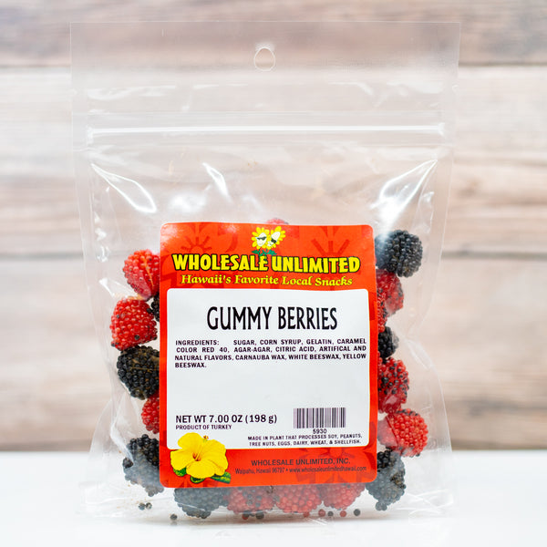 Gummy Berries - Wholesale Unlimited Inc.