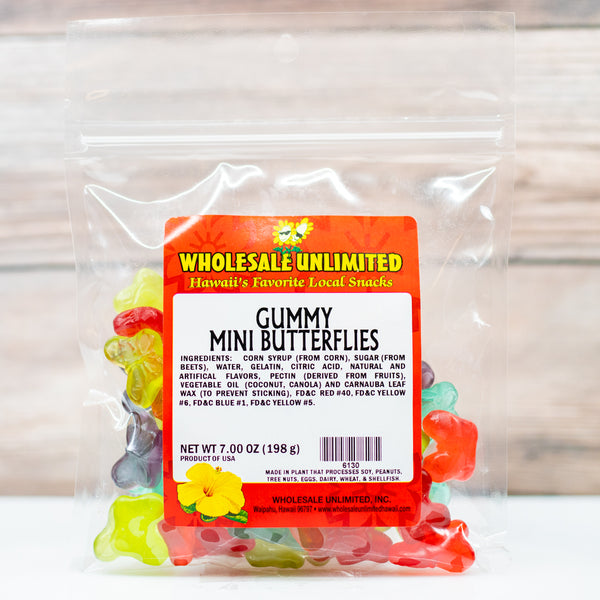 Gummy Mini Butterflies - Wholesale Unlimited Inc.