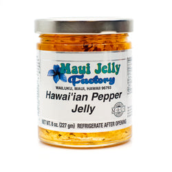 Maui Jelly Factory Chili Pepper Jelly - Wholesale Unlimited Inc.