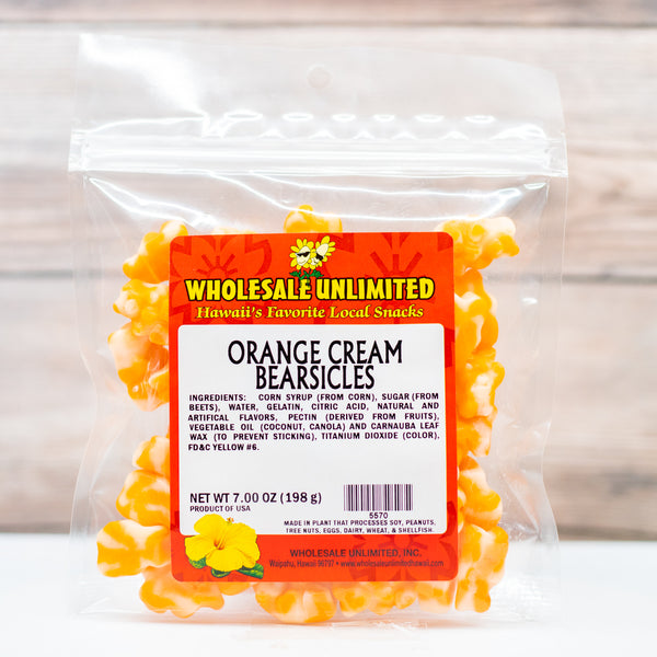 Orange Cream Bearsicles - Wholesale Unlimited Inc.