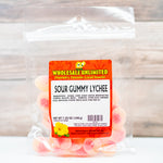 Sour Gummy Lychee - Wholesale Unlimited Inc.