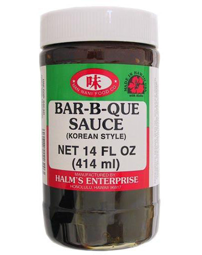 Halm's Enterprise - Bar-B-Que Sauce