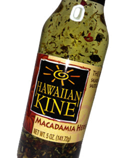 Hawaiian Kine Seasonings - Macadamia Herb Oil