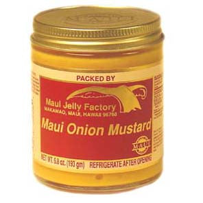 Maui Jelly Factory Onion Mustard - Wholesale Unlimited Inc.