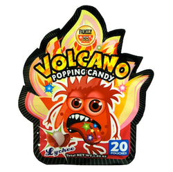 Volcano Popping Candy - Lychee - Wholesale Unlimited Inc.
