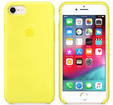 Yellow Silicone Case Apple iPhone 8 / iPhone 7
