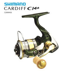 SHIMANO 12 Cardiff CI4 + C2000HGS  / 030351 / Spinning Reels