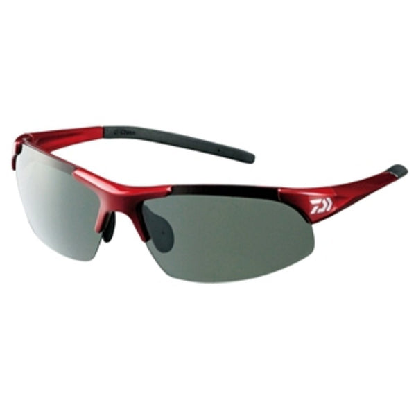 Daiwa fishing polarized sunglasses discolored dimming polarizing glass DN-4022H gray (red) 886154