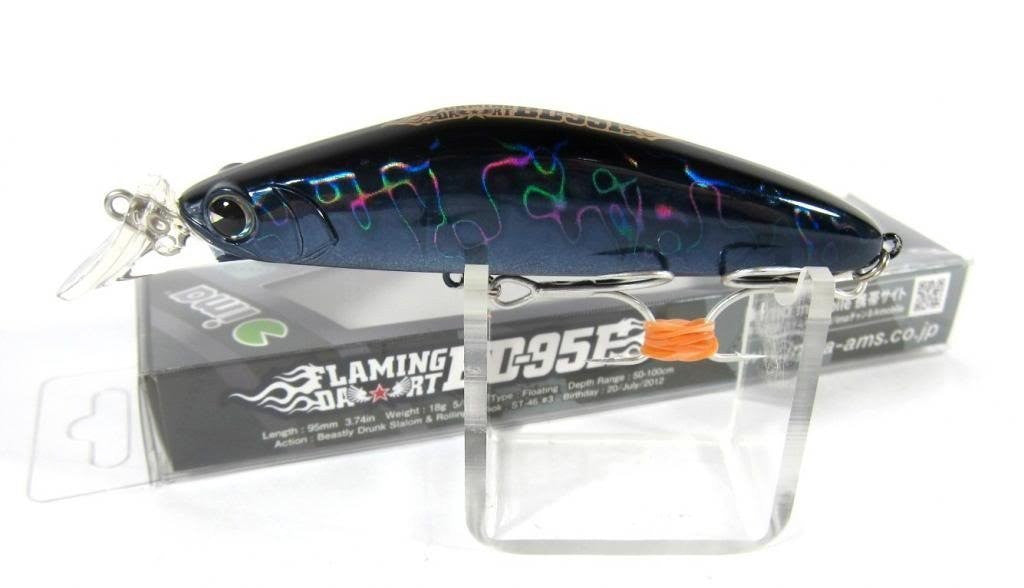 Ams design (ima) lure flaming dart BD-95F # FD95-008 black card 193072