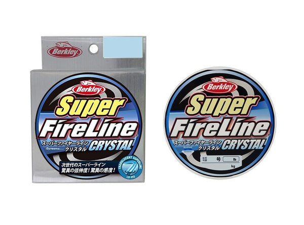 Berkley line Super fire line 150m Crystal 1.0 No. 16lb