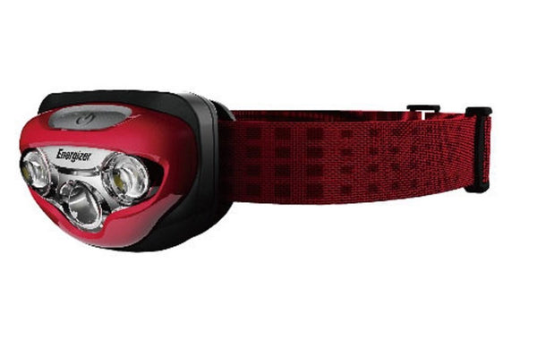 Energizer LED headlight HDL 150 Red (Maximum brightness 150 lumens / maximum lighting time 50 hours) HDL 1505 RD