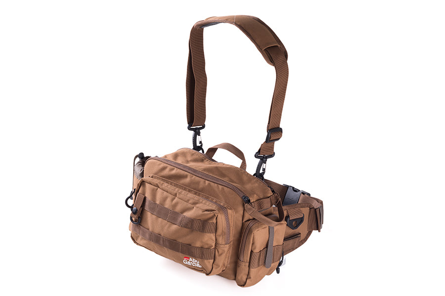 Abu Garcia Hip Bag 2 Large (Coyote Brown) / 1424120 / Tackle Bag