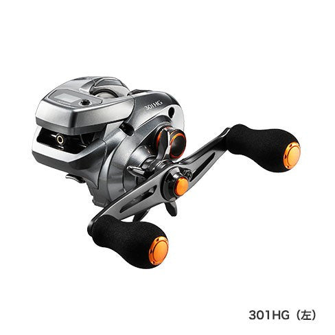 SHIMANO 17 BARCHETTA 301 HG (Left) / 036971 / Lightweight reel with counter