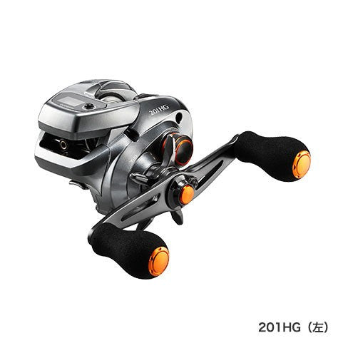 SHIMANO 17 BARCHETTA 201 HG (Left) / 036957 / Lightweight reel with counter