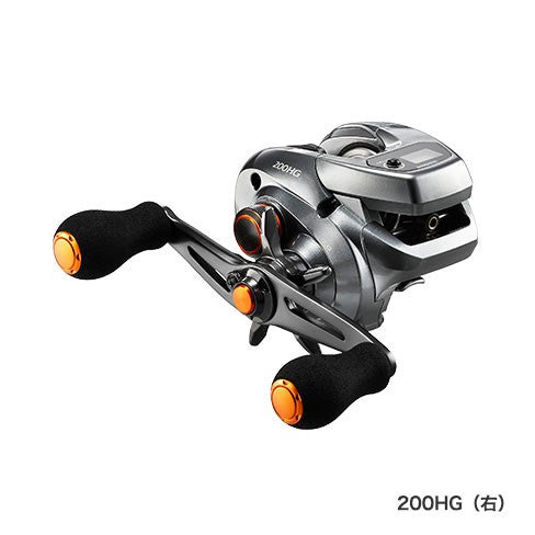 SHIMANO 17 BARCHETTA 200 HG (Right) / 036940 / Lightweight reel with counter