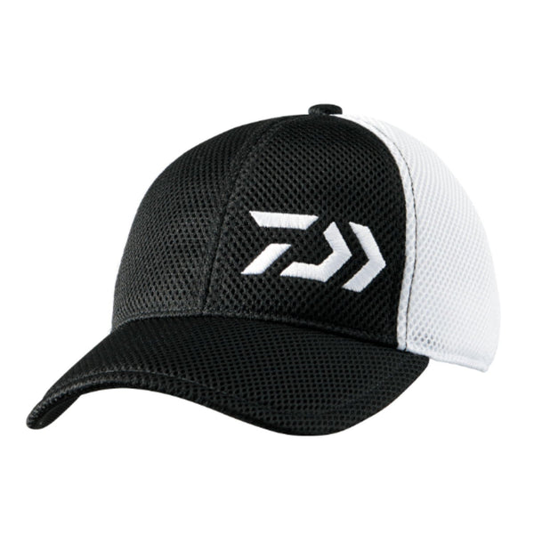 Daiwa Double Russell Basic Cap DC-9207 /  Black × White