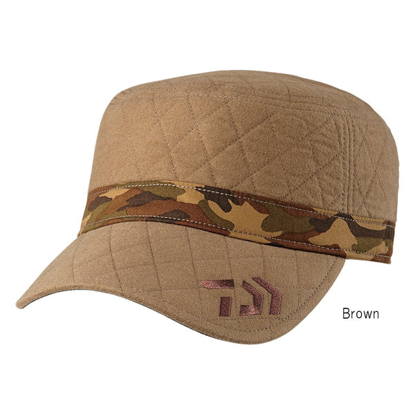 Daiwa quilting work cap DC-9307W / Color Brown